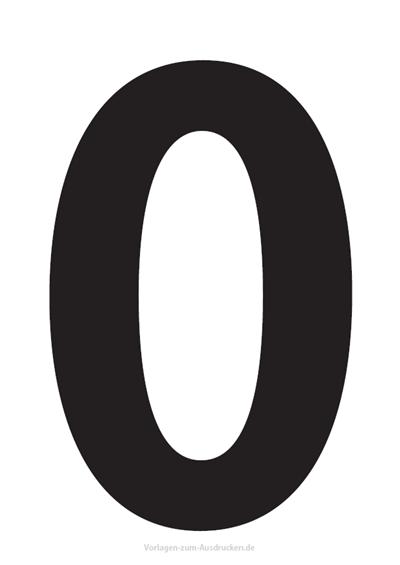 Die Zahl 0 / Null