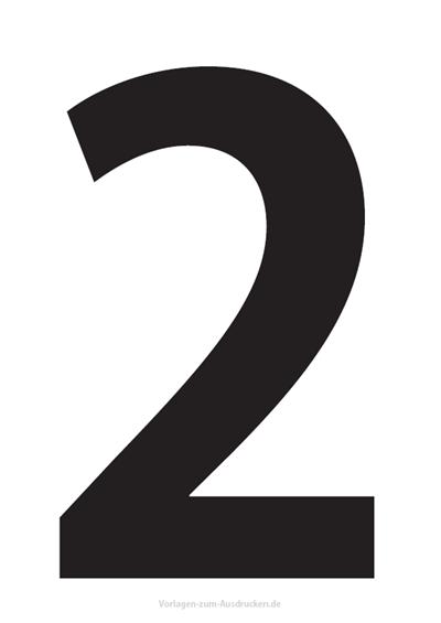 Die Zahl 2 / Zwei