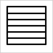 Linien mit Rahmen zum Ausdrucken