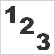 Zahlen zum Ausdrucken