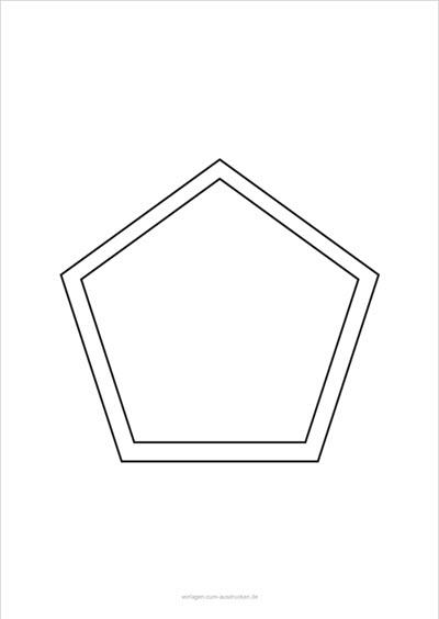 Fünfeck lernen