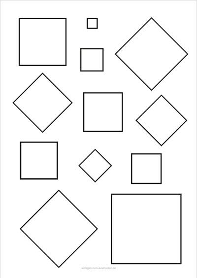 Mehrere Quadrate