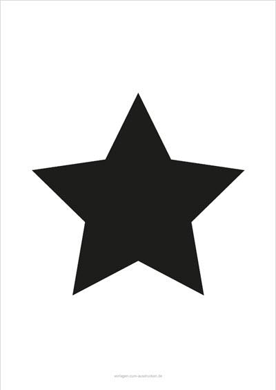 Sterne Zum Ausdrucken Vorlagen Zum Ausdrucken