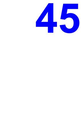 Zahl 45