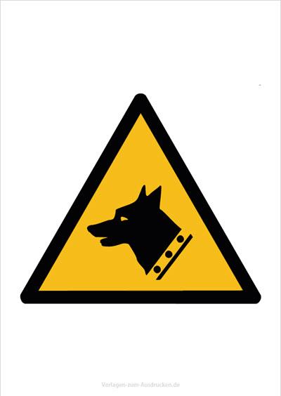 Warnung vor Wachhunden